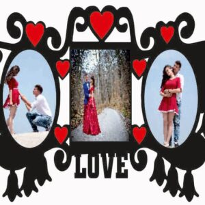Customized Couple Frame 3 Photos