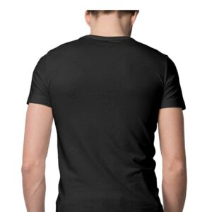 Custom Men's T-Shirt Black 180 GSM