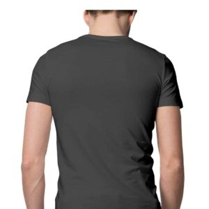 Custom Men's T-Shirt Charcoal Grey 180 GSM