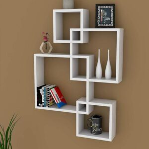 Floating Wall Shelves (Set of 4) (Code: C745345)