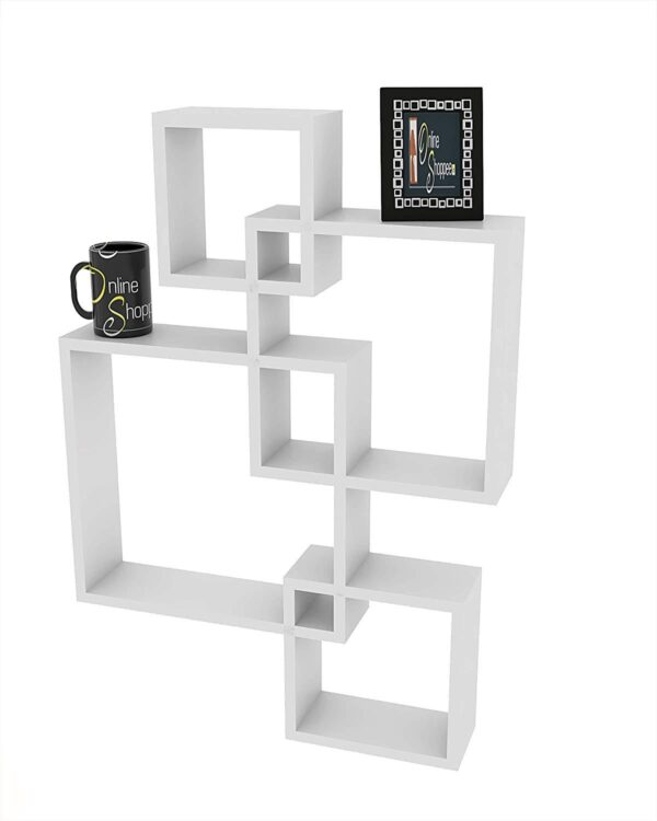 Floating Wall Shelves Set of 4 Code C7453452
