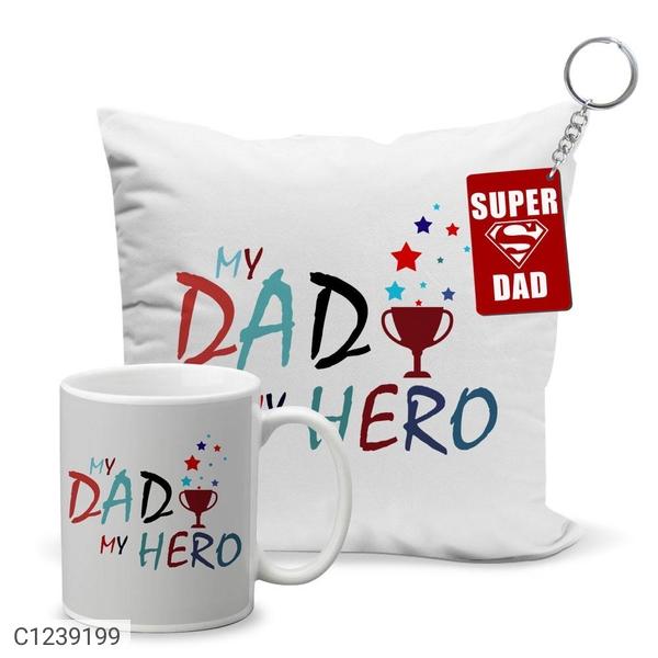 Gift Printed Coffee Mug Cushion Cover Keychain Combo1