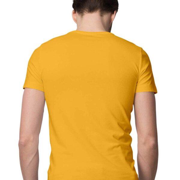 Golden Yellow S Men Round M20803 1600006334 back