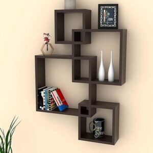 Intersecting Floating Wall Shelves (Set of 4) (Code C745346)
