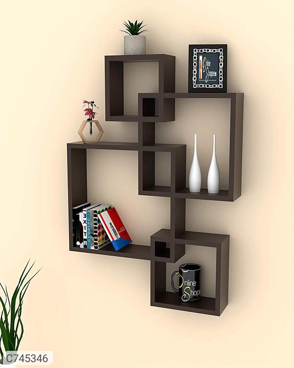 Intersecting Floating Wall Shelves Set of 4 Code C7453461