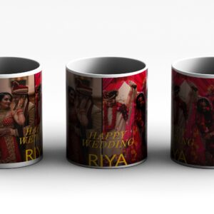 4 PHOTO PERSONALIZED Photo Printed Coffee Mug