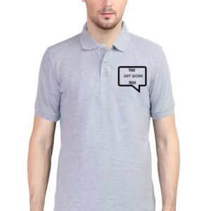 Custom Men's Polo Grey