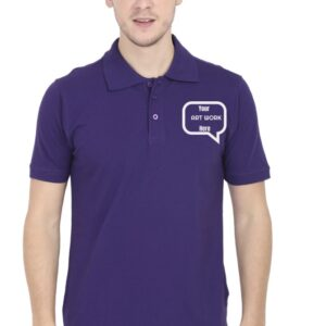 Custom Men's Polo Purple