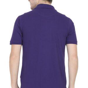 Custom Men's Polo Purple 220 GSM