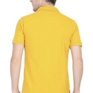 Custom Men's Polo Mustard Yellow 220 GSM
