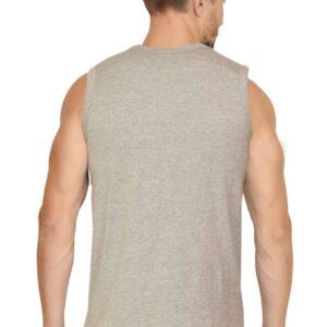 Custom Men's Gym Vest Grey 180 GSM