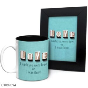Printed 325 ml Ceramic Mugs with Photo Frames Vol- 2