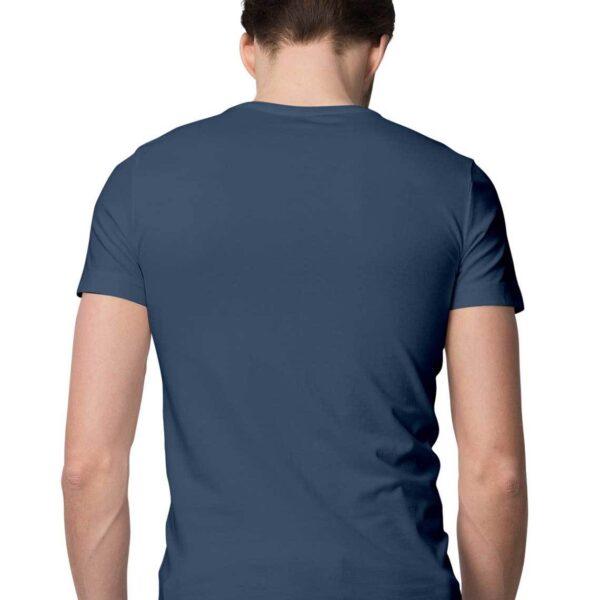 Navy Blue S Men Round M20803 1600006663 back