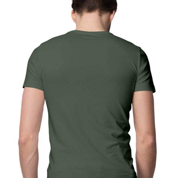 Olive Green S Men Round M20803 1600006663 back