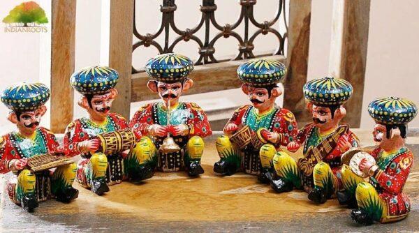 Rajasthani Bawala Musician set of 5 Pc