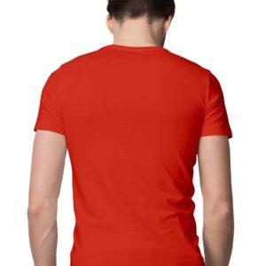Custom Men's T-Shirt Red 180 GSM