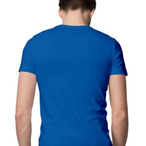 Custom Men's T-Shirt Royal Blue 180 GSM