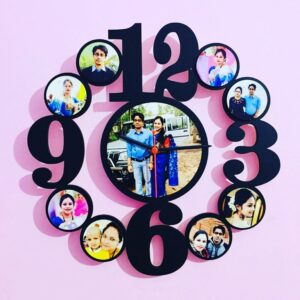 Customized Wall Clock Frame 9 Photos
