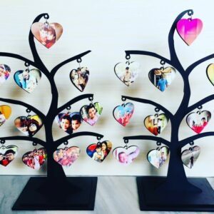 Customized Tree Table Top Photo Frame
