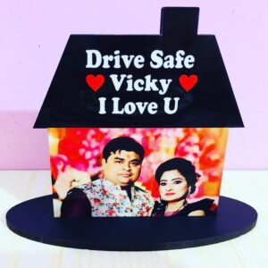 Customized Car Dashboard Photo Frame