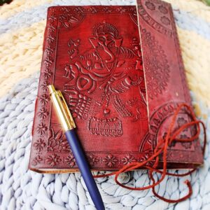Vintage Style Note book with pen