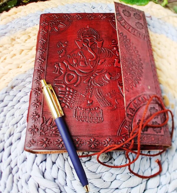 Vintage Style Note book with pen style 1