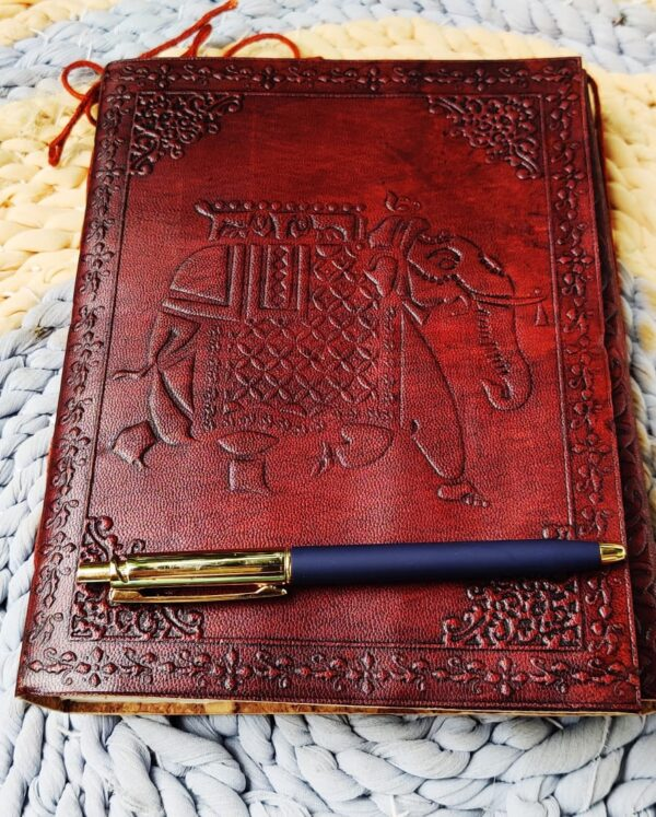 Vintage Style Note book with pen style 2
