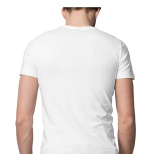 Custom Men's T-Shirt White 180 GSM
