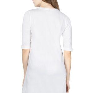 Custom Women's Long-Top White 180 GSM