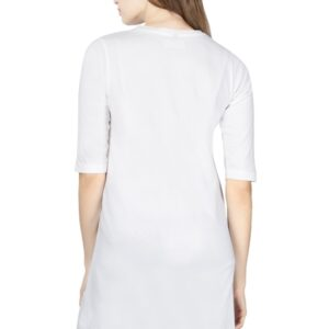 Custom Women's Maternity White T-Shirt 180 GSM