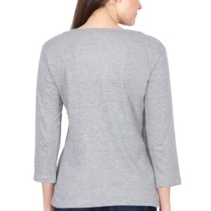 Custom Women's Full Sleeve Grey 180 GSM