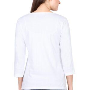 Custom Women's Full Sleeve White 180 GSM