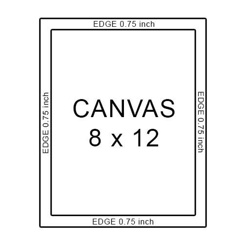 canvas 8 x 12