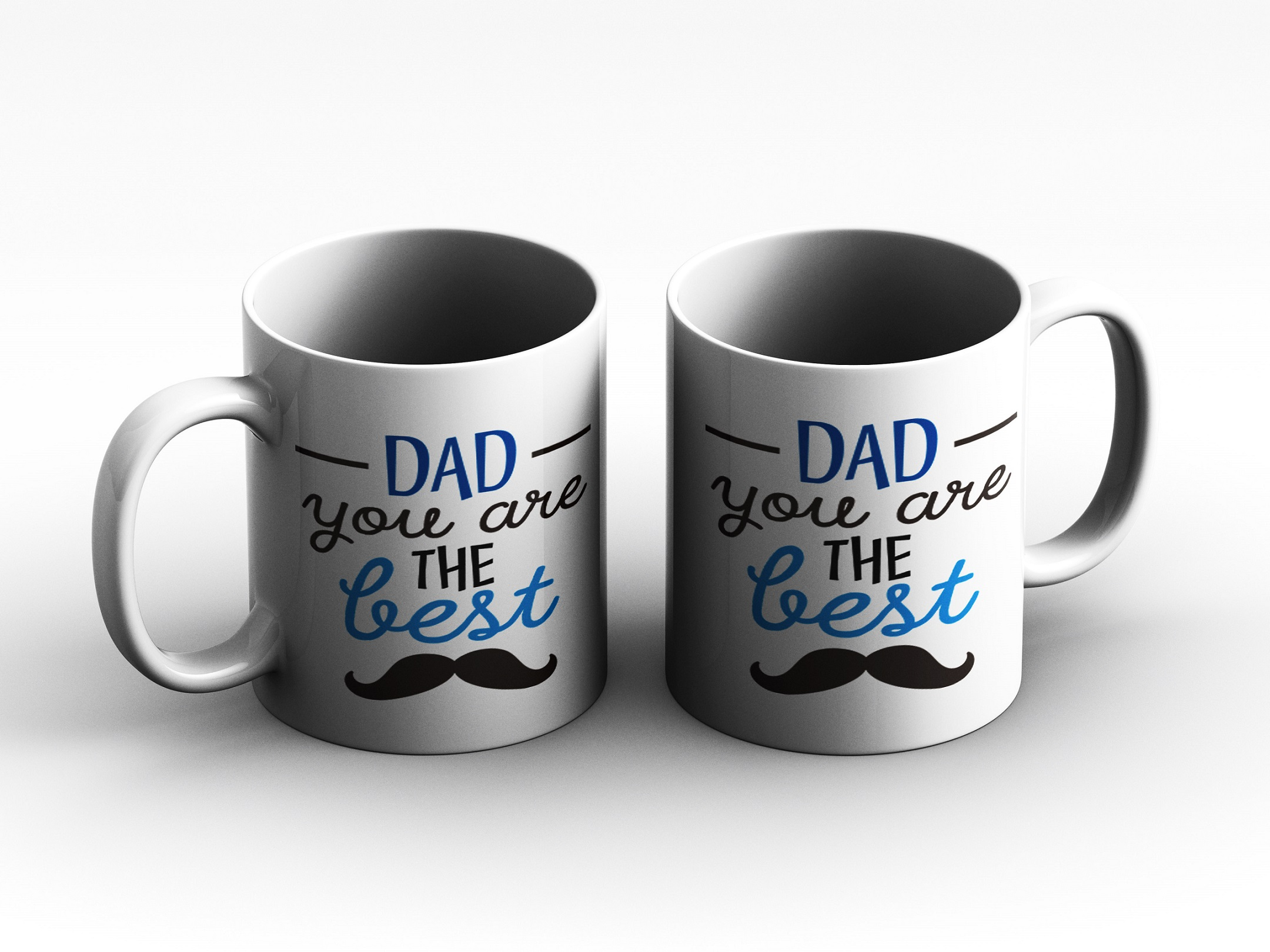 mug Dad you are the best white reduce