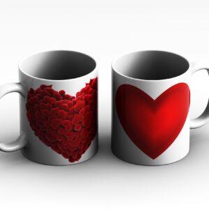 mug Heart 2 side white reduced