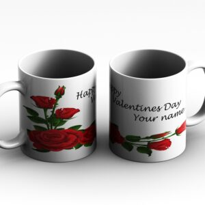 Heart with text type 2 Personalised Printed Coffee Mug