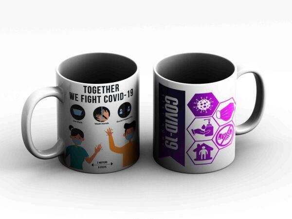 mug covid 19 2 side