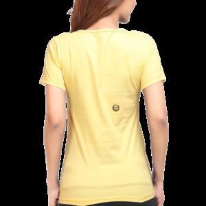 Custom Women's Golden Yellow T-Shirt 180 GSM