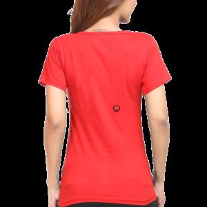 Custom Women's Red T-Shirt 180 GSM