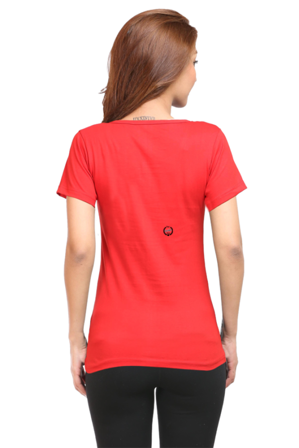 w rond neck red1
