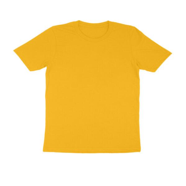 front 5fbaac080a105 Golden Yellow S Men Round