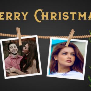 Personalised Christmas Coffee Mug Four Photos